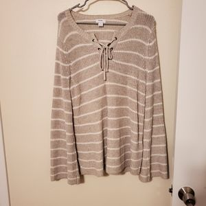 Chic Bell Sleeve Sweater